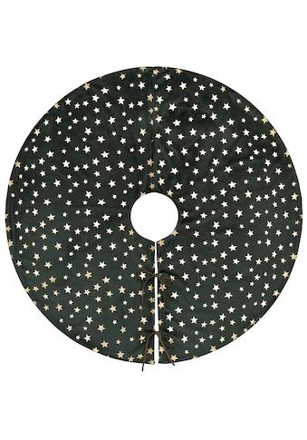 Leonique Baumteppich »Madelynn«, rund, 5 mm Höhe, mit goldfarbenen Sternen, Ø ca. 90 cm kaufen