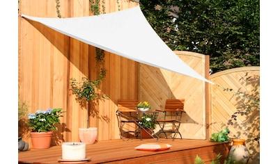 FLORACORD Sonnensegel , B: 360 cm, cremeweiß kaufen