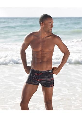 KangaROOS Boxer-Badehose, mit Streifendesign kaufen