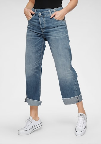 Herrlicher Weite Jeans »MÄZE«, New Cut: als Cropped oder Schlagjeans tragbar kaufen