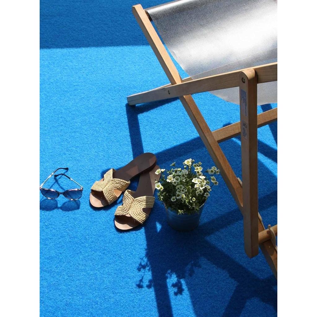 Primaflor-Ideen in Textil Kunstrasen »PARK«, rechteckig, 7 mm Höhe, Rasenteppich, mit Noppen, strapazierfähig, witterungsbeständig, In- und Outdoor geeignet