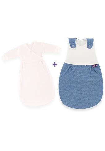 Träumeland Babyschlafsack »3 tlg Set LIEMBICH, Design Wellenmeer« kaufen
