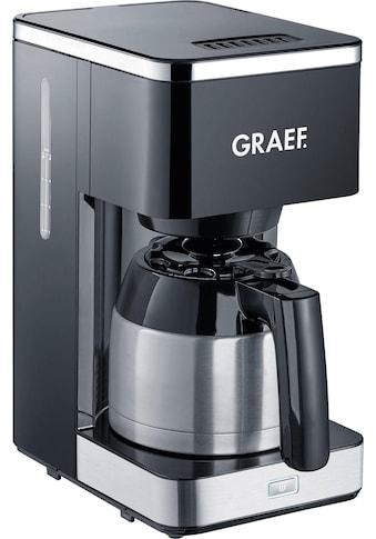 Graef Filterkaffeemaschine FK 412 mit Thermokanne, Korbfilter 1x4 kaufen