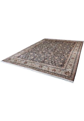 Kayoom Seidenteppich »Allover 3951«, rechteckig, 10 mm Höhe, Einzelstück mit... kaufen