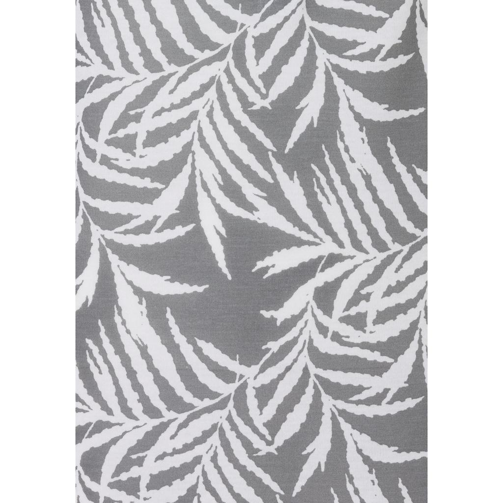 Vivance Rüschentop, mit Rüschendetails und Knöpfen in Hornoptik