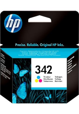 HP »hp 342 Original Cyan, Magenta, Gelb« Tintenpatrone (1 - tlg.) kaufen