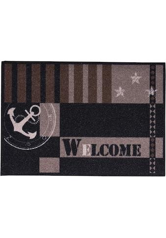 Fußmatte, »Metropolitan«, Andiamo, rechteckig, Höhe 4 mm, maschinell gewebt kaufen