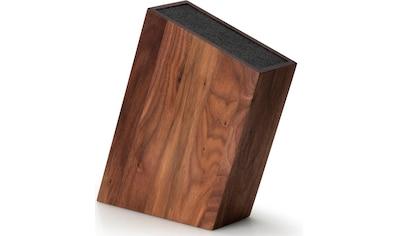 Continenta Messerblock, Walmussholz, mit flexiblem Einsatz kaufen