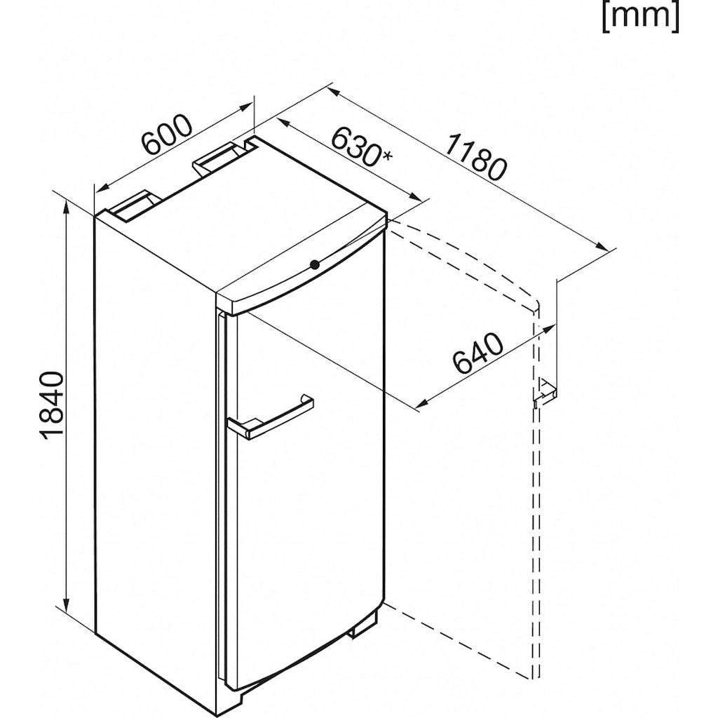 Miele Gefrierschrank »FN 28062 ws«, 184,1 cm hoch, 60 cm breit