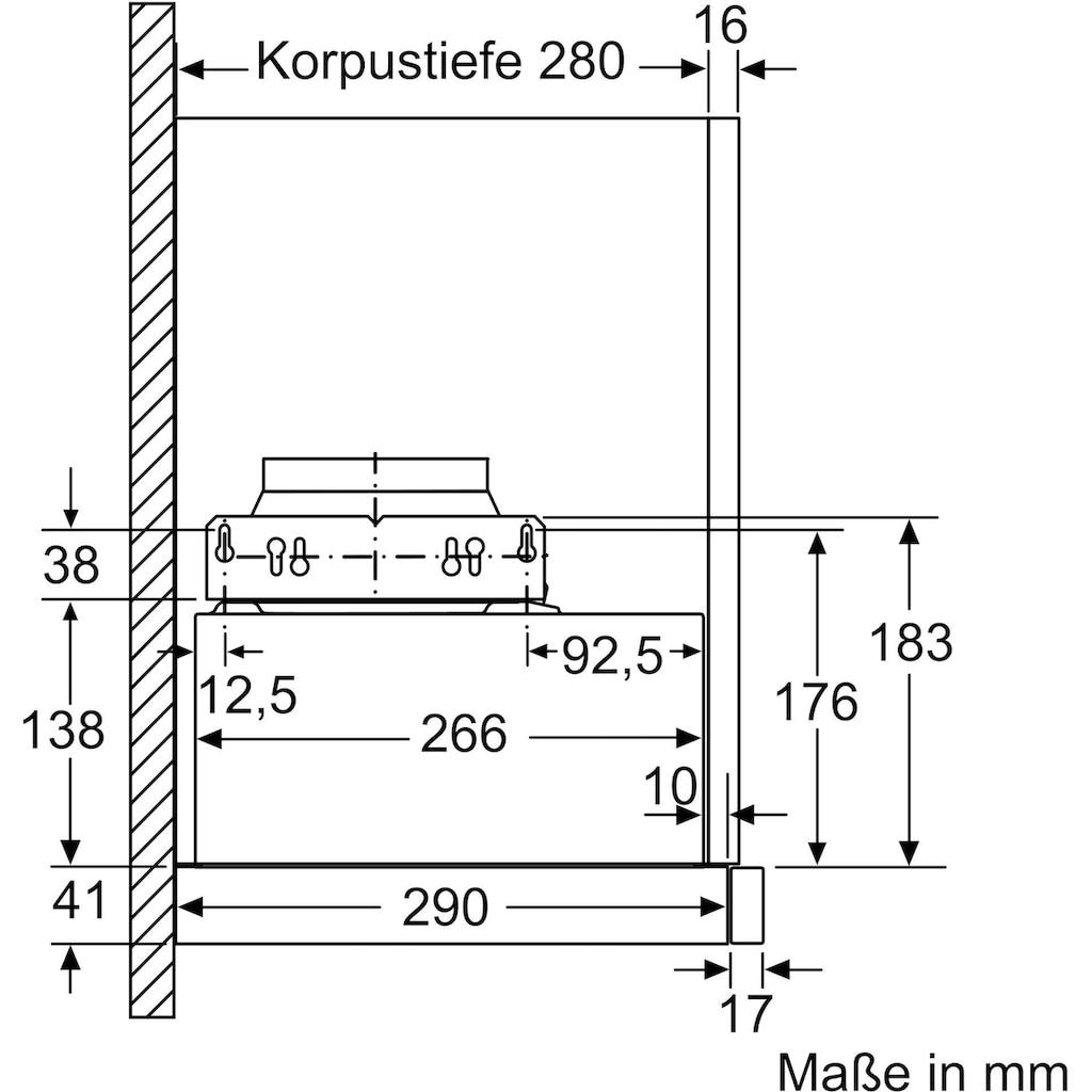 BOSCH Flachschirmhaube »DFL063W56«