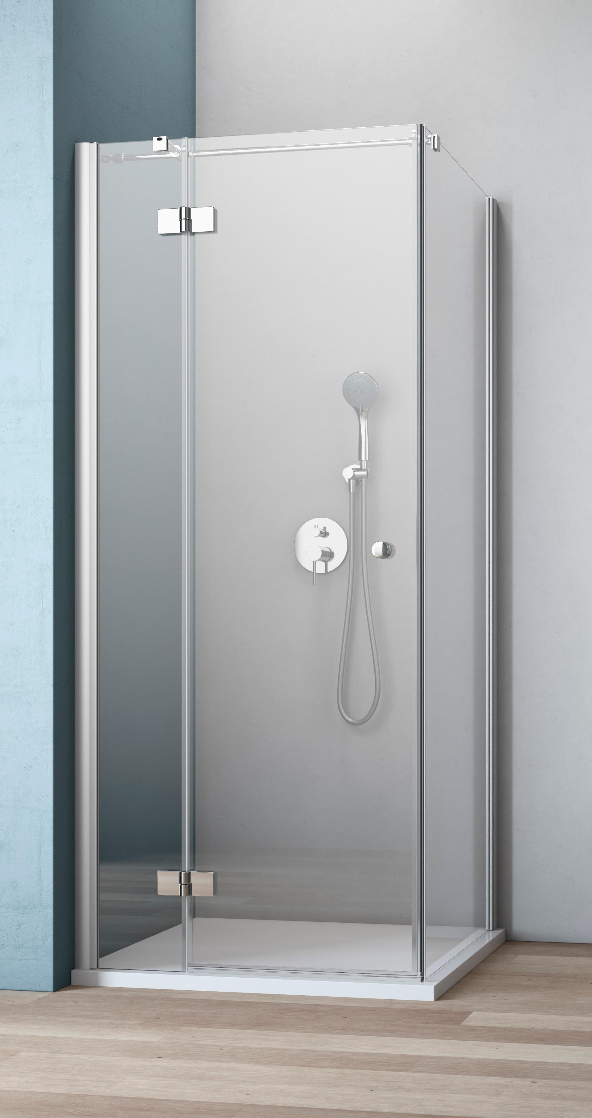 MAW Eckdusche »AF300«, 120 x 80 cm | Bad > Duschen > Duschen | Silberfarben | MAW