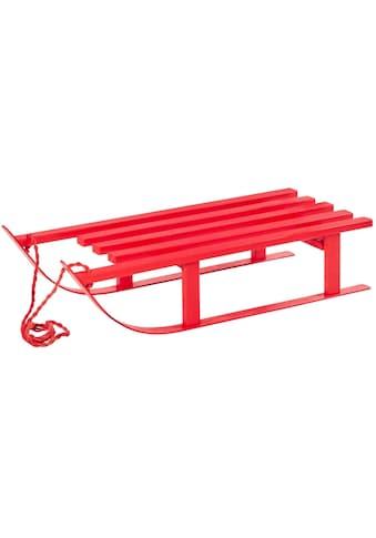 Dekoobjekt »Schlitten Red« kaufen