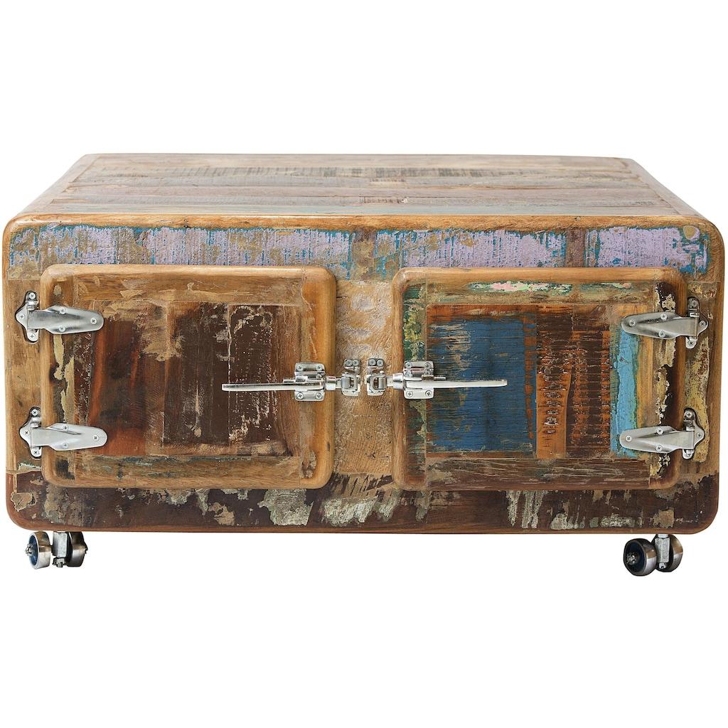 SIT Couchtisch »Fridge«, mit Kühlschrankgriffen, Shabby Chic, Vintage
