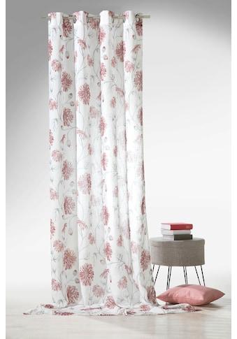 Weckbrodt Vorhang »Dahlia«, natürliche Leinenoptik kaufen