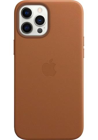 Apple Smartphone-Hülle »iPhone 12 Pro Max Leder Case mit MagSafe« kaufen