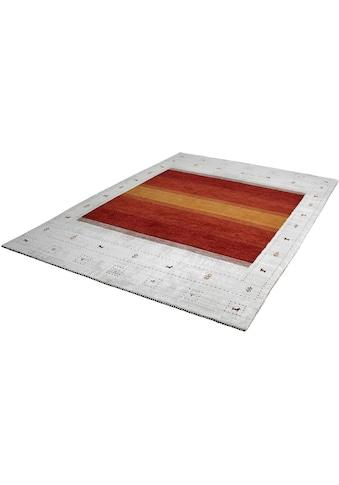 Obsession Teppich »My Legend of Obsession 321«, rechteckig, 17 mm Höhe, handgewebt, Obermaterial: 50% Wolle, 50% Viskose, Wohnzimmer kaufen