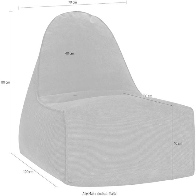 Sitting Point Sitzsack »Boogie Cordone« (1 Stück)