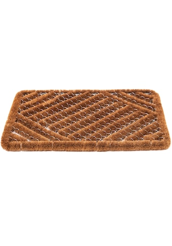 Andiamo Fußmatte »Kokos Drahtgitter«, rechteckig, 10 mm Höhe, Schmutzfangmatte, In-... kaufen