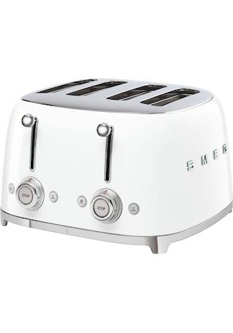 Smeg Toaster »TSF03WHEU«, 3000 Watt kaufen