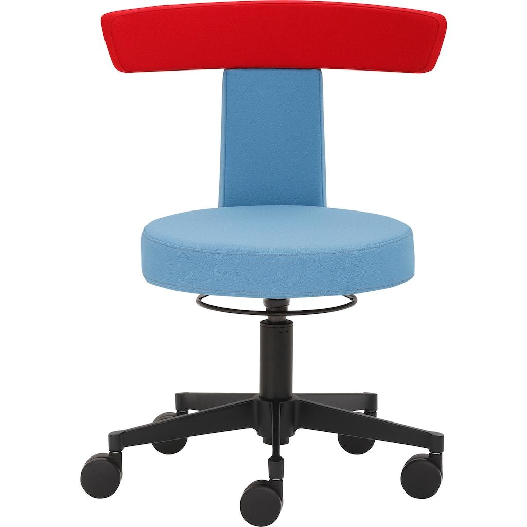 Mayer Sitzmöbel Drehhocker »Funktionshocker myDUO«, besonders niedrige Sitzhöhe