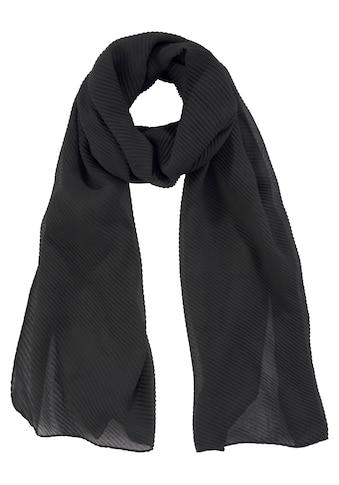 J.Jayz Modeschal, Halstuch mit Plisseefalten kaufen
