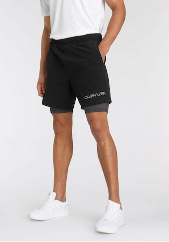 Calvin Klein Performance 2-in-1-Shorts kaufen