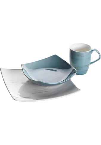 Home affaire Frühstücks - Set (3 - tlg.), Porzellan kaufen