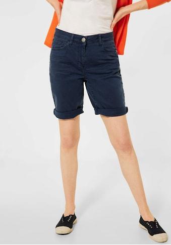 Cecil Bermudas »Style New York«, in leicht kombinierbarer Unifarbe kaufen