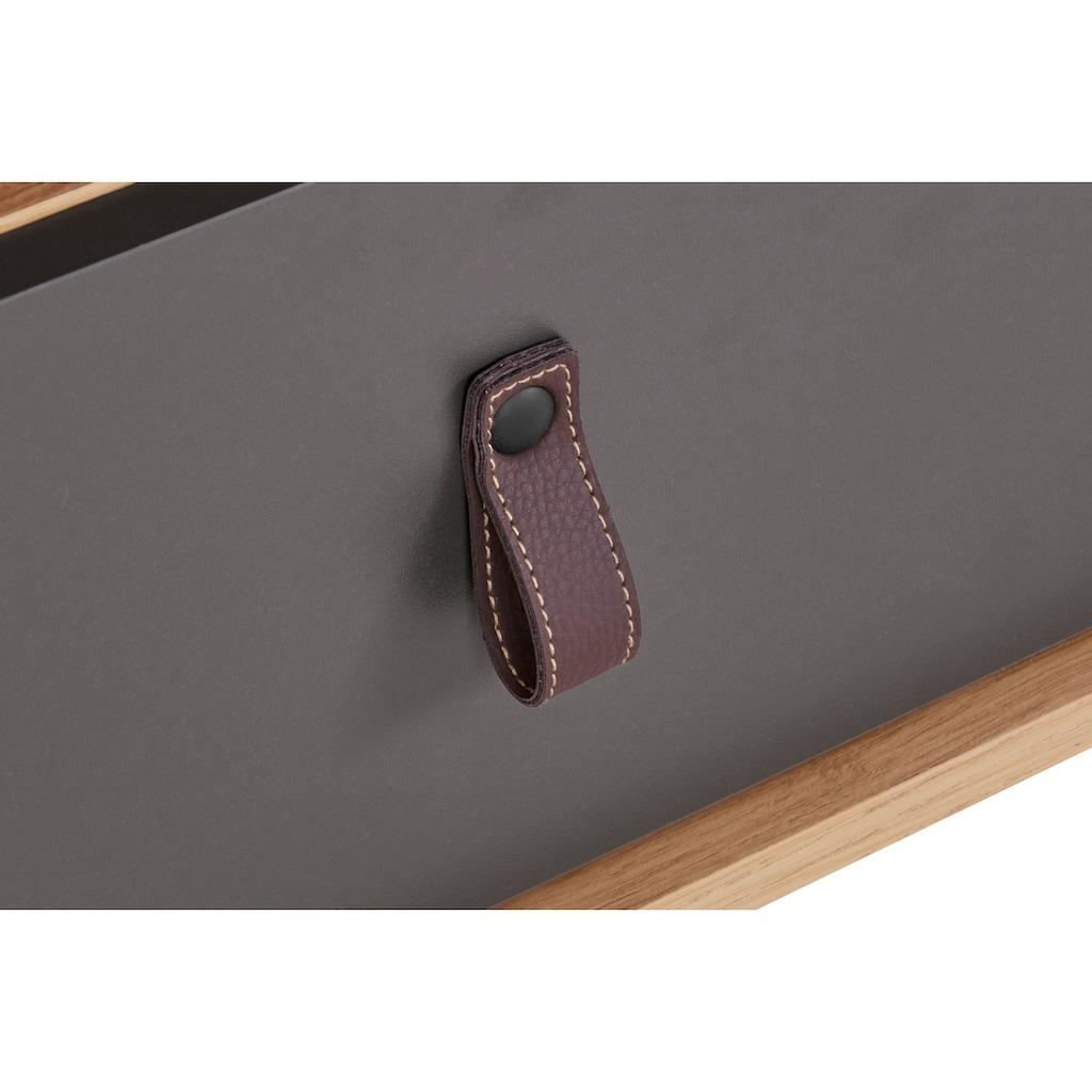 Homexperts TV-Board »Bristol«, Breite 150 cm, mit massiven Eichefüßen