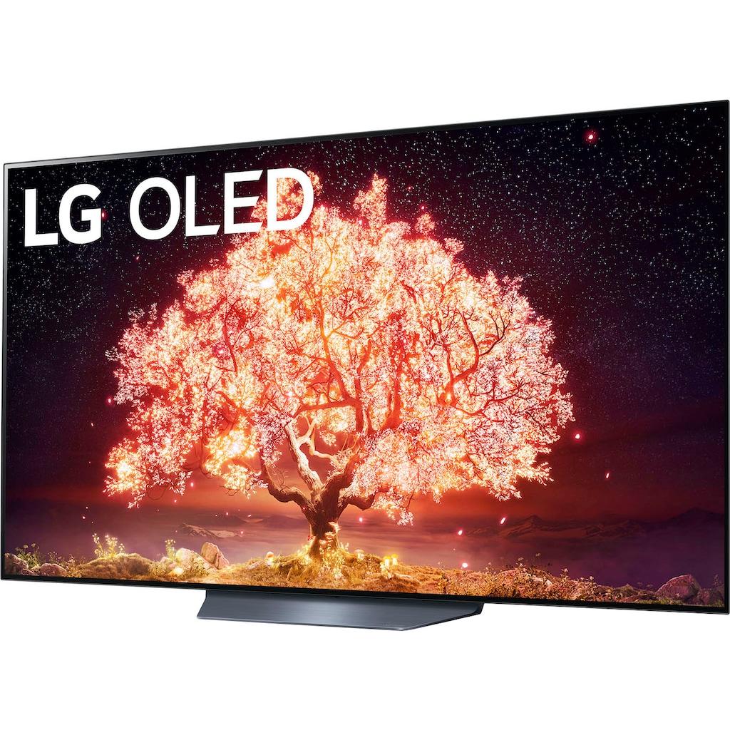 """LG OLED-Fernseher »OLED65B19LA«, 164 cm/65 """", 4K Ultra HD, Smart-TV, (bis zu 120Hz)-α7 Gen4 4K AI-Prozessor-Twin Triple Tuner-Sprachassistenten-HDMI 2.1"""
