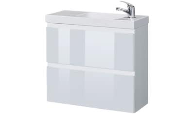 WELLTIME Waschplatz - Set »Barcelona«, Waschtisch, reduzierte Tiefe, 60 cm breit, 2 tlg. kaufen
