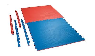 Ju-Sports Bodenmatte »Checker«, (1), rot/blau kaufen