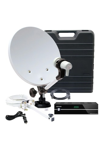 TELESTAR SAT-Receiver »Camping-Satanlage im Koffer mit HD 5 kompakt«, (WLAN ), mit... kaufen