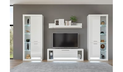 Places of Style Wohnzimmer-Set »Meran«, (4 St.), im modernen Design kaufen