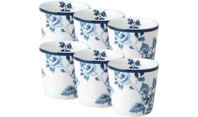 LAURA ASHLEY BLUEPRINT COLLECTABLES Eierbecher »China Rose«, (Set, 6 tlg.), Porzellan kaufen