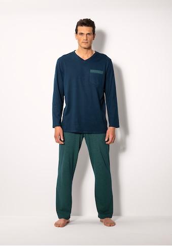 Schiesser Pyjama, mit bedruckter Hose kaufen