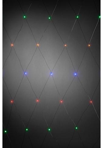 KONSTSMIDE LED-Lichternetz, 64 St.-flammig, LED Lichternetz, 64 bunte Dioden kaufen