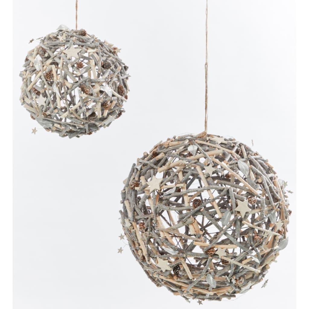 LED Dekoobjekt »Weihnachtsball«, Warmweiß, Ø 40 cm