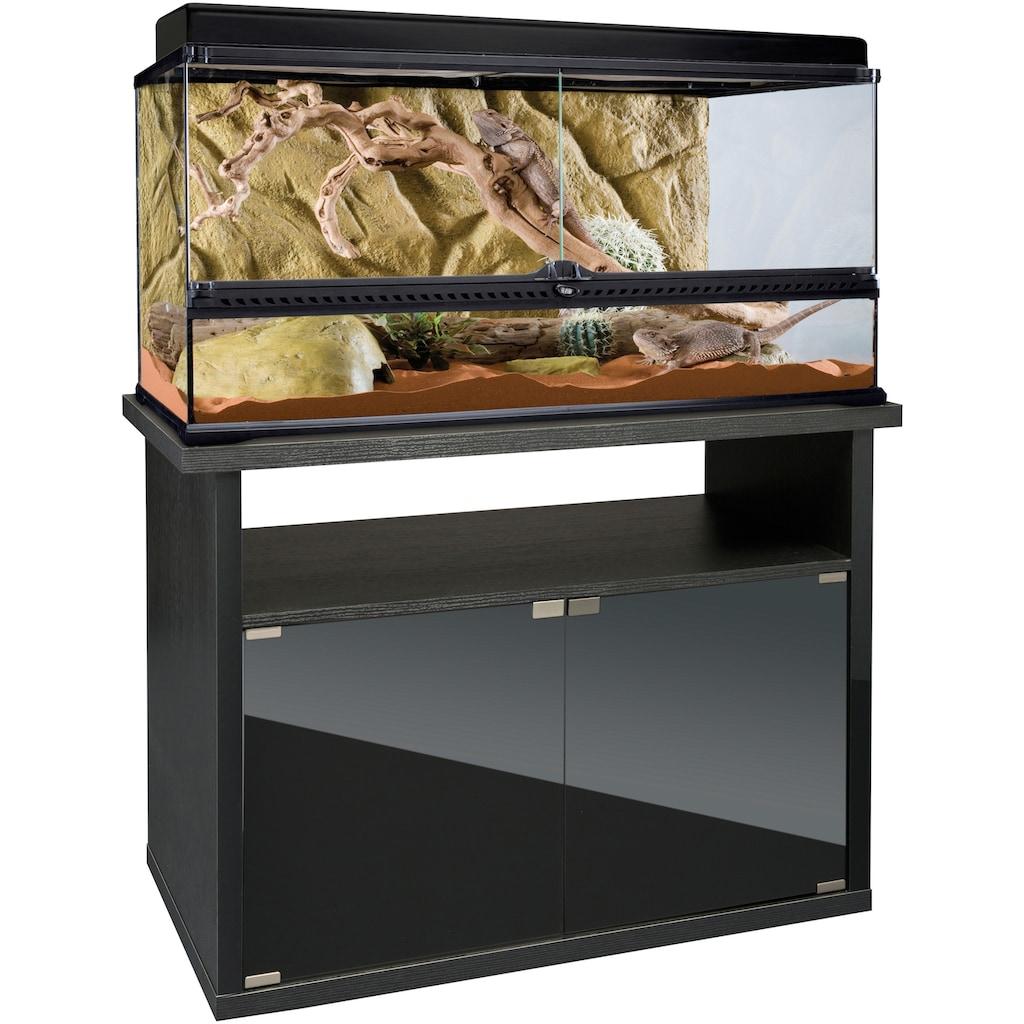 Exo Terra Terrarium, BxTxH: 90,5x46,5x125,5 cm, mit Unterschrank