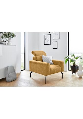 DOMO collection Sessel »Lucera«, inklusive Kopfteilverstellung, wahlweise mit... kaufen