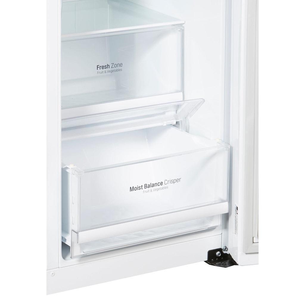 LG Side-by-Side, GSJ761SWXZ, 179 cm hoch, 91,2 cm breit, Door-in-Door