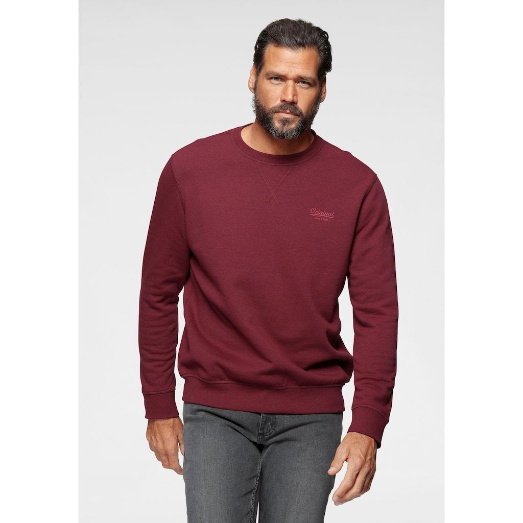 Man's World Sweatshirt, aus Baumwollmischung