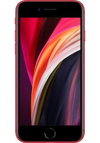 """Apple Smartphone »iPhone SE (2020)«, (11,94 cm/4,7 """" 128 GB Speicherplatz, 12 MP Kamera), ohne Strom-Adapter und Kopfhörer kaufen"""