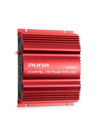 Auna 2 - Kanal - Verstärker 2x 95W »C500.2« kaufen