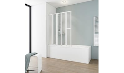 SCHULTE Badewannenfaltwand »Luxus«, 5 - tlg., gerahmt, BxH: 115 x 140 cm kaufen