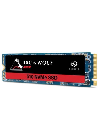 Seagate SSD »IronWolf® 510«, Inklusive 3 Jahre Rescue Data Recovery Services kaufen