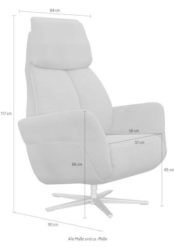 ADA trendline Relaxsessel »Thimo«, in Größe L, Liegefläche 185cm, mehrfach... kaufen