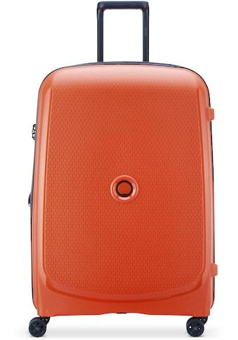 Delsey Hartschalen-Trolley »Belmont Plus, 76 cm, orange«, 4 Rollen, mit... kaufen