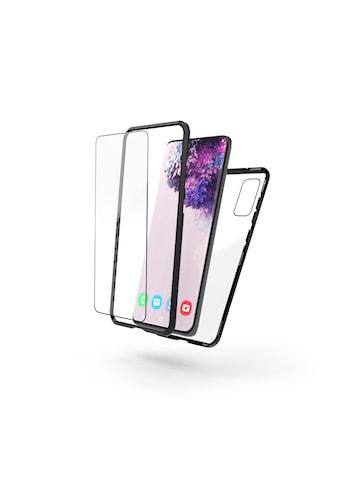 Hama Smartphone-Hülle »Smartphone-Cover Schw./Transp.«, Galaxy S20,... kaufen