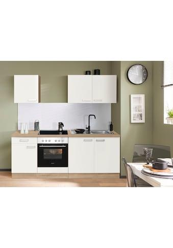 OPTIFIT Küchenzeile »Leer«, 210 cm breit, inkl. Elektrogeräte der Marke HANSEATIC,... kaufen